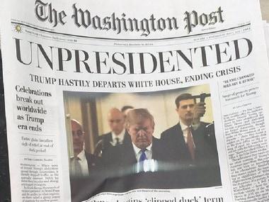 Unpresidented: Amid partial US govt shutdown, fake edition of Washington Post predicts Donald Trumps resignation