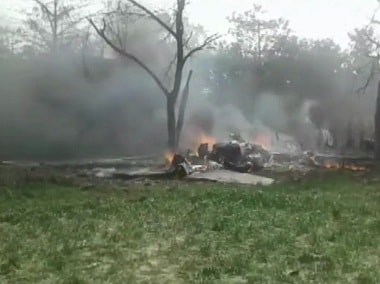 Indian Air Force's Jaguar fighter jet crashes in Uttar Pradesh's Kushinagar; pilot ejects to safety