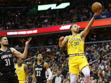NBA: Warriors switch gears to beat Wizards for ninth straight win; Russell Westbrook shines as Thunder edge past Pelicans