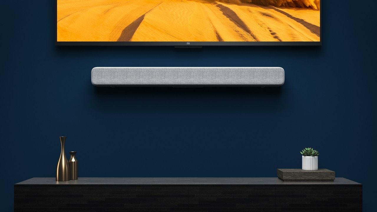 Mi Soundbar. Image: Xiaomi India