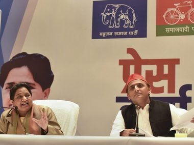 SP, BSP tie-up comes with in-built risks of Mayawatis fickle nature and history of bitter rivalry at ground