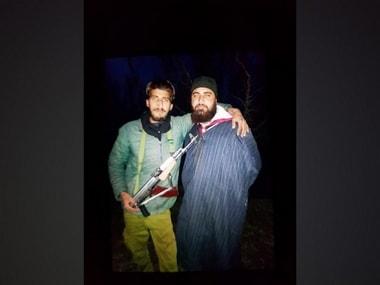 Hizbul Mujahideen militant Kifayatullah Bukhari. ANI