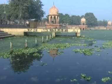 The Gomti river in Uttar Pradesh. ANI