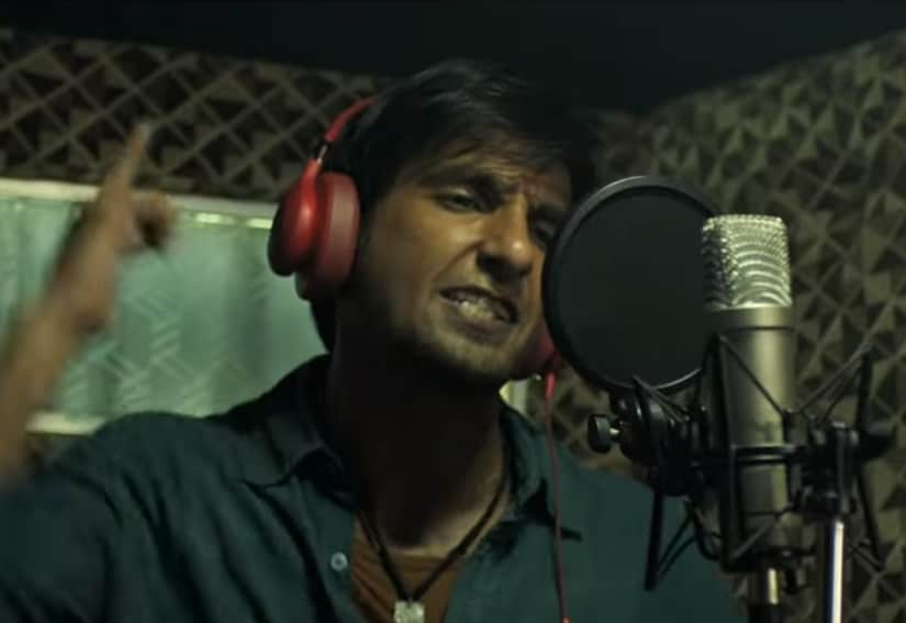 Ranveer Singh in Gully Boy. YouTube