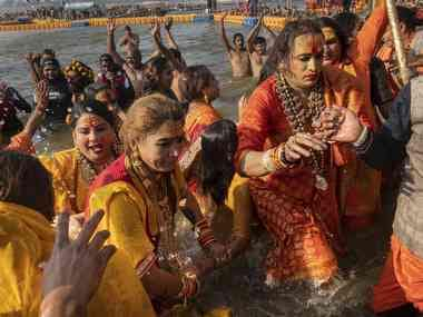 Laxmi Narayan Tripathi claims a place for trans people at Kumbh Mela, pushes for recognition of her Kinnar akhara