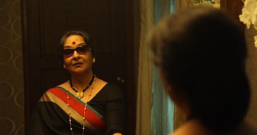 Mamata Shankar in a still from Shahjahan Regency