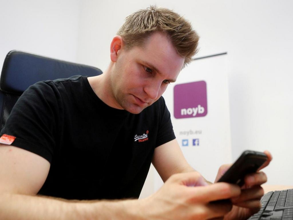 Austrian lawyer and privacy activist Max Schrems. Image: Reuters