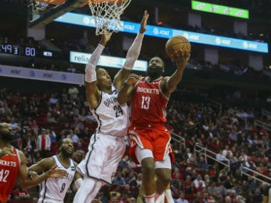 NBA: Nets spoil James Harden's huge scoring night by beating Rockets in overtime; Celtics down in-form Raptors