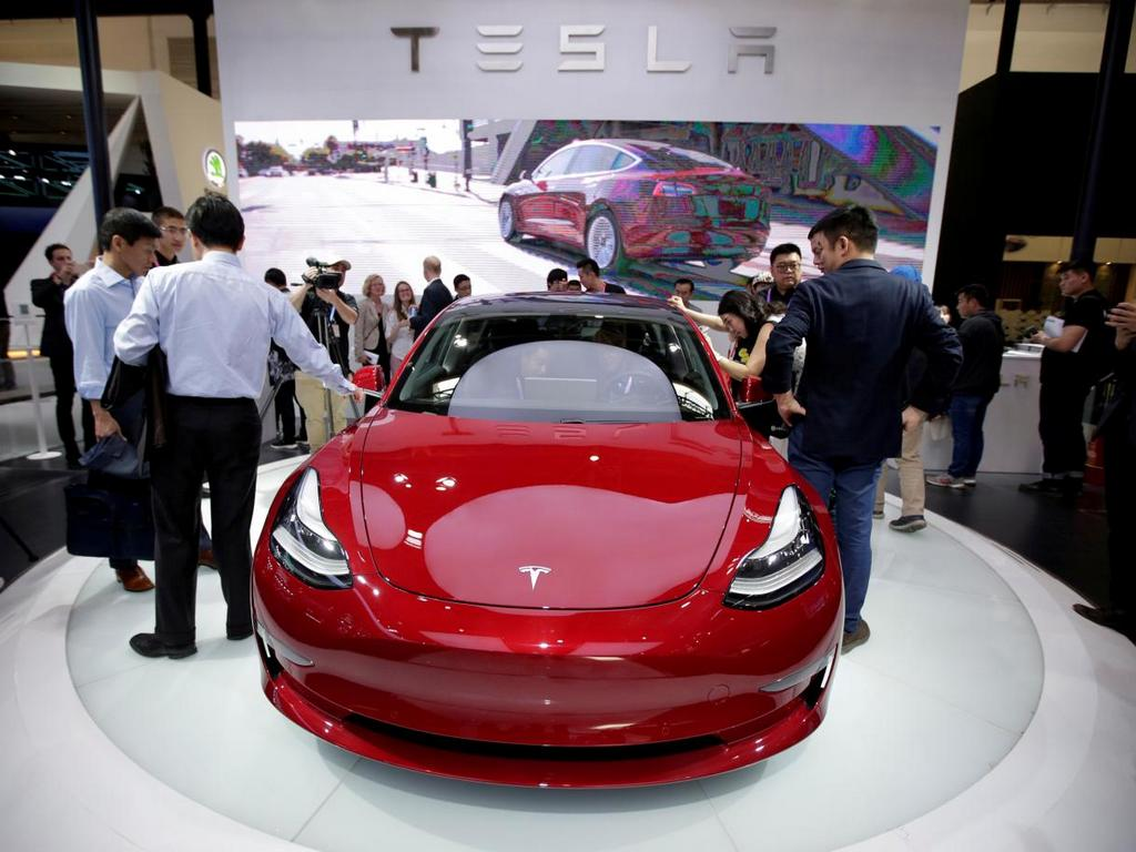 Tesla starts delivering Model 3 cars in China ahead of schedule to push sales