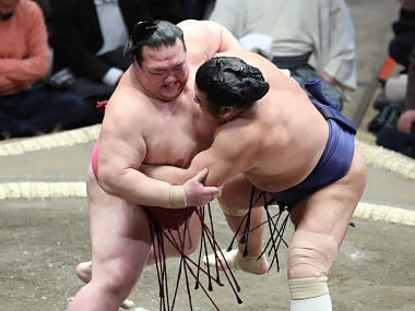 Living in the clean-cut days of sumo wrestling