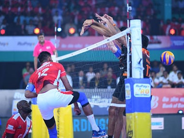 Pro Volleyball League: Calicut Heroes seal play-offs spot with victory over Black Hawks Hyderabad