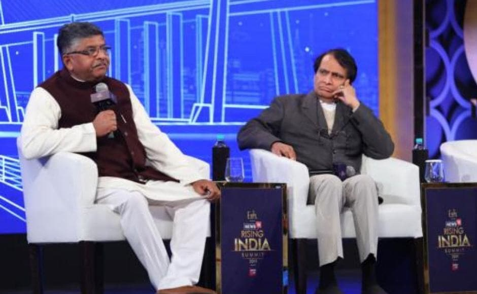 Speaking at a session titled 'India Ahoy: Growth & Gumption', Union minister Ravi Shankar Prasad said the 'election mantra' of the BJP for the general election would only be the work that the government has done in the four-and-a-half years. News18