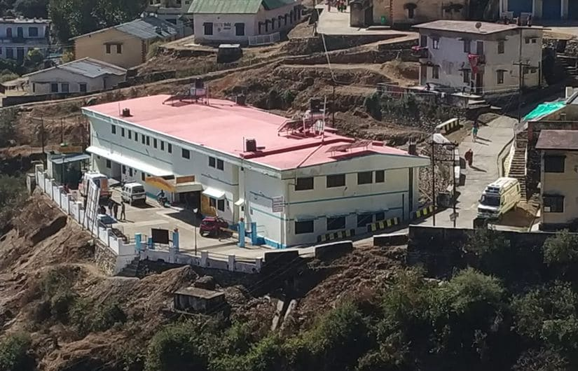 A district hospital in Tehri that the government runs in a PPP mode. Image Courtesy: Rahul Singh Shekhawat