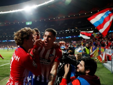 Champions League: Atletico Madrid ride on late goals by Jose Gimenez and Diego Godin to beat Juventus amid VAR drama