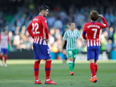 LaLiga: Atletico slip up in Barcelona pursuit with loss against Real Betis; Real Madrid gain ground after beating Alaves