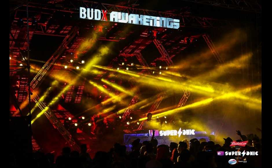 BUDXAwakenings stage at the festival