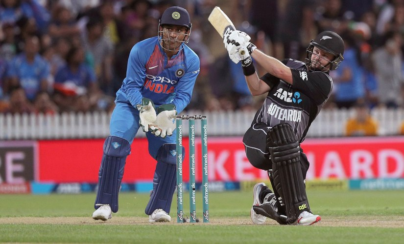 Colin Munro's blistering 72 helped New Zealand beat India by four wickets in the third T20I to clinch the series. AP