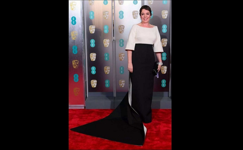 Olivia Colman wins the BAFTA Best Actress award for her role in The Favourite. Source: Twitter