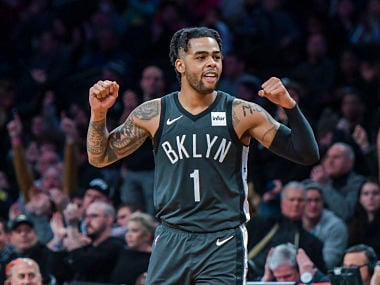 NBA: Brooklyn Nets DAngelo Russell replaces injured Indiana Pacers guard Victor Oladipo in All-Star Game