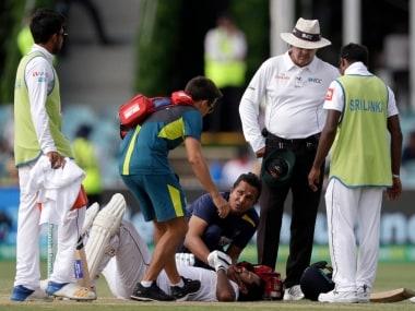 Australia vs Sri Lanka: Pat Cummins relieved Dimuth Karunaratne conscious after nasty bouncer blow