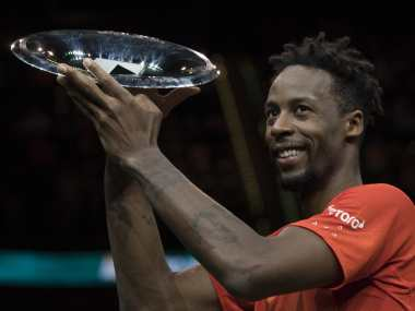 Rotterdam Open: Gael Monfils wins title with a mixture of brilliant tennis and strategic tanking