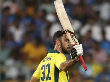 Glenn Maxwell remained unbeaten on 113 off 55 balls to single-handedly guide Australia to victory. AP