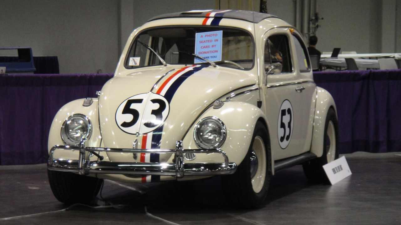 Herbie, Walt Disney's epic and anthropomorphic 'Love Bug'. Image: Wikimedia Commons