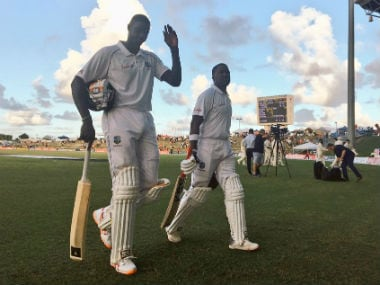 West Indies vs England: Hosts fight hard against quality bowling to grab 86-run lead on Day 2 at Antigua