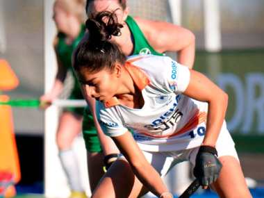 Indian women's hockey team eke out a draw against Ireland in first of two friendly games on Spain tour