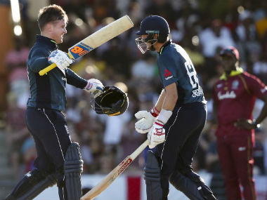 West Indies vs England: Jason Roy, Joe Root crash Chris Gayle's party as visitors go 1-0 up with record chase in 1st ODI