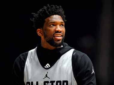 NBA: Philadelphia 76ers Cameroonian star Joel Embiid ruled out for one week with sore left knee