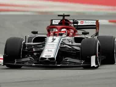 Formula One: Alfa Romeo's Kimi Raikkonen knocks former employers Ferrari off testing leaderboard summit