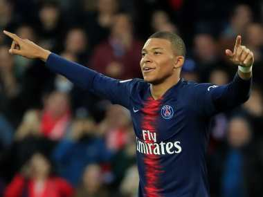 Ligue 1: Kylian Mbappe becomes youngest ever player to score 50 French league goals as PSG cruise past Nimes