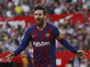 LaLiga: Lionel Messi nets 50th career hat-trick in breathtaking fashion to help Barcelona record comeback win over Sevilla