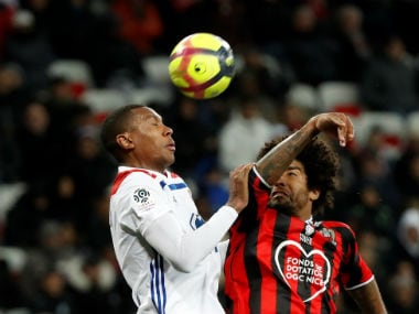 Ligue 1: Wasteful Lyon lose ground in race for second place after defeat to Nice; Lille beat Guingamp to extend lead