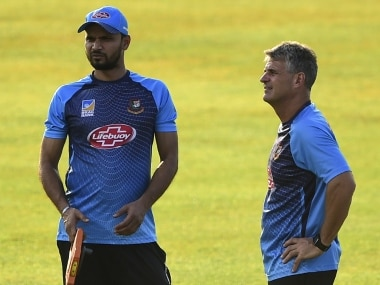 New Zealand vs Bangladesh: Visiting coach Steve Rhodes prefers 'underdog' tag for his side in upcoming ODI series