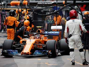 Formula One: Three McLaren team members needed medical attention after garage fire at Circuit de Catalunya