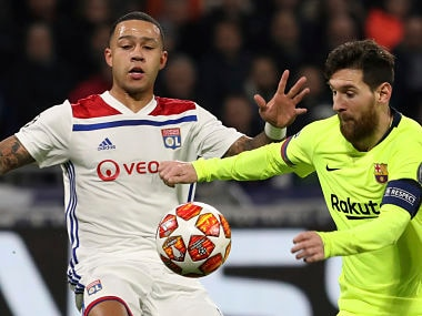 Champions League: Memphis Depay among three Lyon players burgled during teams match against Barcelona