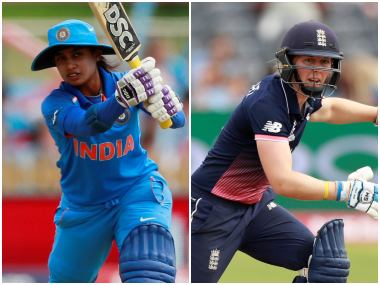 India Women vs England Women, Live Cricket Score, ICC Women's Championship, 1st ODI at Mumbai