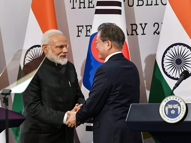 Narendra Modi in South Korea: After 2015s promise to Act East, PM and Moon Jae-in sign 6 MoUs to strengthen ties
