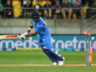 India vs New Zealand: Visitors left clutching at straws against Black Caps in opening T20I in Wellington
