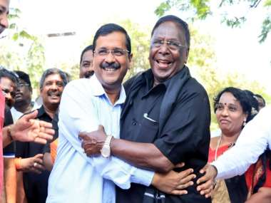 Puducherry CM V Narayanasamy ends six-day sit-in after talks with Lt Governor Kiran Bedi; says partial success was achieved