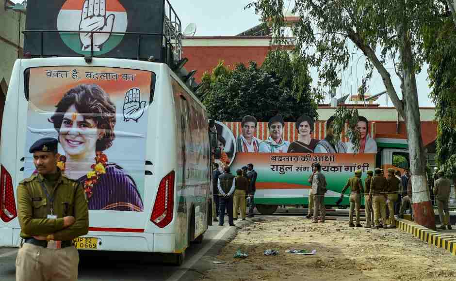 Lucknow comes to standstill as Priyanka Gandhi Vadra hits road for Congress road show ahead of Lok Sabha polls