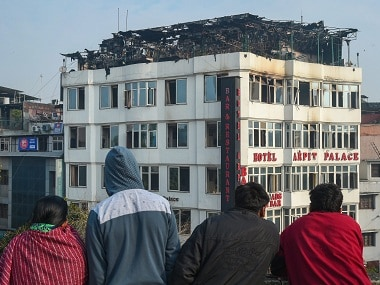 Karol Bagh fire: License holder of Arpit Palace Hotel Shardendu Goel arrested; 17 killed in last weeks blaze