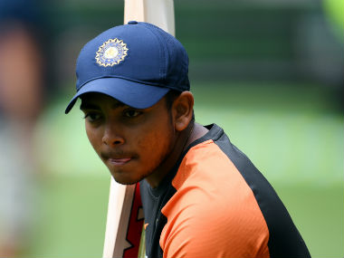 Prithvi Shaw not 100 percent fit from hip injury, says he does not want to put time frame on recovery