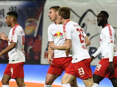 Bundesliga: RB Leipzig stay on course for Champions League spot courtesy last-gasp draw against Hoffenheim