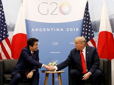 Japanese PM Shinzo Abe nominated Donald Trump for Nobel Peace Prize on US request, claims report