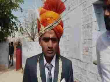Sawai Ram, who was attacked in Dugar village. ANI