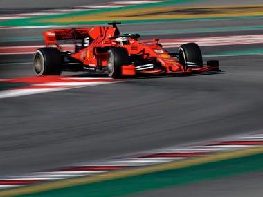 Formula One: Sebastian Vettel leads Ferrari to strong start in Barcelona pre-season testing