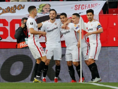 Europa League: Wissam Ben Yedder guides Sevilla past Serie As Lazio as five-time champions reach last-16